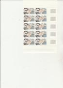 ST PIERRE ET MIQUELON   - FRAGMENT  FEUILLE DE 10 TIMBRES N° 488- ANNEE 1988 - - COTE : 12,50 € - St.Pierre & Miquelon
