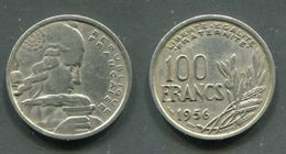 100 F COCHET 1956 B TB - France