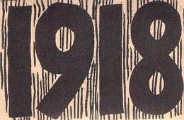 WWII WW2 Propaganda Tract Leaflet Flugblatt  1918  5cm X 7,5cm  FREE SHIPPING WORLDWIDE - Vieux Papiers