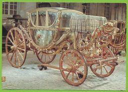 COMPIEGNE Musée De La Voiture Berline D'Apparat Bologne Fin XVIIIe S. Carrosse Coach - Taxis & Cabs