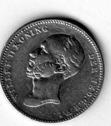 Pièce De Monnaie Du Pays-bas - 25 Cents Argent 1849 En T T B + - - [ 3] 1815-… : Kingdom Of The Netherlands
