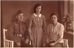 WW II Soldat Mit Familie - War 1939-45