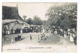 AURAY LES ENVIRONS  DANSES BRETONNE LA RIDEE - Auray