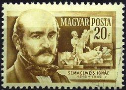 Hungary 1954 - Ignac Semmelweis, Physicist ( Mi 1401 - YT 1143 ) - Hungría