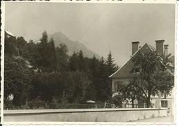 """Allemont-(Isère)- Photo: (11.5 Cm X 8 Cm) """"Hôtel Les Tilleuls"""", Août 1961 (Voir Verso) (Légère Pliure Bas à Gauche) - Lieux"""