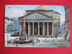 Italia - Roma, Pantheon 1904 - Panthéon