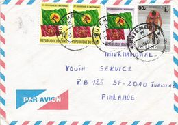 Zaire Congo 1987 Butembo Flag Cycling Cover - Zaïre