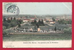 CPA Andelot - Vue Générale Prise De Montéclair - Andelot Blancheville
