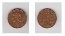 PANAMA - UN CENTIMO 1968 - Panama