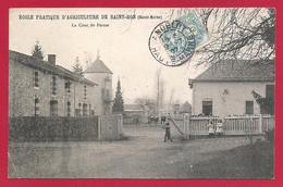 CPA Saint-Bon - École Pratique D'Agriculture - La Cour De Ferme - Colombey Les Deux Eglises