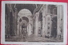 Vatican - Interno Di San Pietro - Vaticano