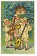 622 - Bonne Et Heureuse Année - Enfants Déguisés - Instruments De Musique - New Year