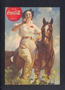 Dt. Reich Coca Cola Werbung 1939 Feldpost - Werbepostkarten