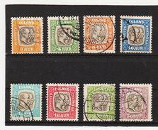 MAG1409  ISLAND 1907  Michl  24/31 DIENST Used / Gestempelt  ZÄHNUNG Siehe ABBILDUNG - Dienstpost