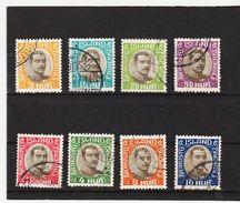 MAG1412  ISLAND 1920  Michl  33/40  DIENST Used / Gestempelt  ZÄHNUNG Siehe ABBILDUNG - Dienstpost