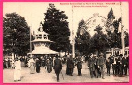 Expo. Inter. Du Nord De La France - Roubaix 1911 - L'Entrée De L'Avenue Des Grands Palais - Animée - LAFFINEUR SAMIN - Roubaix