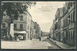 TOULOUSE - FONTAINE CLEMENCE ISAURE ET RUE FALGUIERE - Toulouse