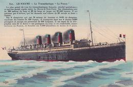 CPA - 76 - LE HAVRE - Le Transatlantique La France - 320 - Le Havre