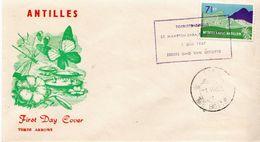 Netherlands Antilles Set On 3 FDCs - Niederländische Antillen, Curaçao, Aruba