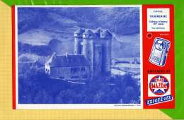 BUVARD & Blotting Paper : Piles MAZDA Vue Aerienne N°45 CANTAL TOURNEMIRE - Piles