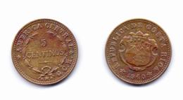 Costa Rica 5 Centimos 1940 - Costa Rica