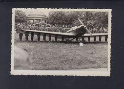 Dt. Reich Originalphoto Friedrichshafen 1935 Militär Flugzeug - Guerra 1939-45