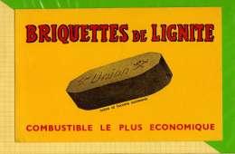 BUVARD & Blotting Paper : Briquettes De Lignite UNION   Cologne - Electricité & Gaz