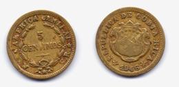 Costa Rica 5 Centimos 1946 - Costa Rica