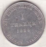HANNOVER, 1 Thaler 1835, Wilhelm IV, En Argent  , KM# 169 - Taler Et Doppeltaler