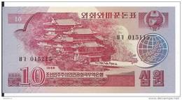 COREE DU NORD 10 Won 1988  UNC  P 37 - Korea, North