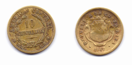 Costa Rica 10 Centimos 1947 - Costa Rica