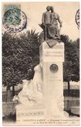 51 CHALONS SUR MARNE - Monument Incomplet Des Arts Et Metiers érigé Le 3 Juin 1906 - RARE - Cpa Marne - Châlons-sur-Marne