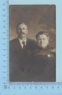 Quebec Canada -  Cir:1904-18, Carte Postale  Photo Personnel, Ecrite En Arriere, 2 Scans - Photographie