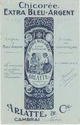 BUVARD & Blotting Paper - Chicorée Extra Bleu Argent ARLATTE CAMBRAI - Ohne Zuordnung