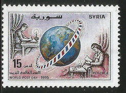 1995 Syria World Post Day   Complete Set Of 1  MNH - Syrie