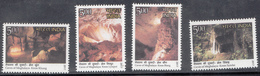 INDIA, 2017, Caves Of Meghalaya State,  4 Values  Complete Set MMH (**). - Inde