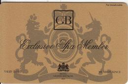 GREECE - Grande Bretagne Hotel, Exclusive Member Card, Unused - Hotel Keycards