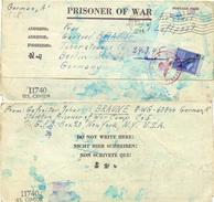 (Lo695) Kriegsgefangenen Post Brief St. USA New York N. Berlin Mit Zensur - Deutschland