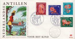 Netherlands Antilles Set On FDC - Other