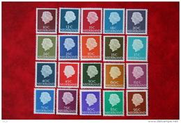 Koningin Juliana En Profil NVPH 617-636 1953-1967 POSTFRIS / MNH ** NEDERLAND / NIEDERLANDE - 1949-1980 (Juliana)