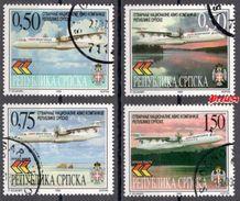 Bosnia Srpska - Air Srpska 1999 Set Used - Bosnie-Herzegovine