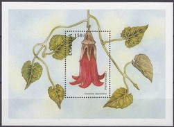 Ouganda Uganda 1988 Yvertn° Bloc 79 *** MNH Cote 6 Euro Flore Bloemen Fleurs - Ouganda (1962-...)