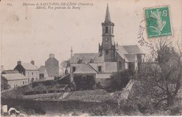 Finistère :  SAINT  POL  De  LEON ;  Sibiril , Vue   Du  Bourg - Saint-Pol-de-Léon