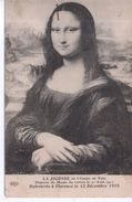 La Joconde De Léonard De Vinci -  Musées Du Louvre - 1914 - Museos
