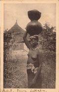 Nus, Afrique Occidentale Française, Lot De 3 Photos       (bon Etat)  Dim: 11 X 7. - Africane