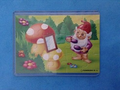 1991 FERRERO PUZZLE GNOMI AL BAGNO - Puzzles