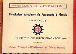 """Buvard / Blotter  :: Pansements  """"HYDRA """" Ne Se Trouve Qu'en Pharmacie - Produits Pharmaceutiques"""