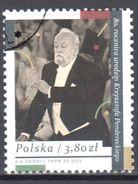 Poland 2013 - Krzysztof Penderecki - Mi.4653 - Used - Gestempelt - 1944-.... Repubblica