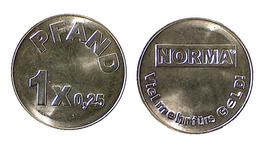 00212 GETTONE TOKEN JETON FICHA APOTHEKE VENDING 1 PFAND NORMA - Germany