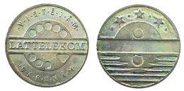 04266 GETTONE TOKEN JETON FICHA LETTONIA TELEFONO TELEPHON VIETEIAM LATTELEKOM SARUNAM - Unclassified